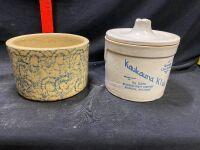 Kaukauna Kids Stoneware Canister with Lid