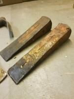 Ax  chisel  metal wedges
