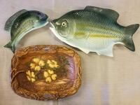 Fish platters and The Ozarks tray