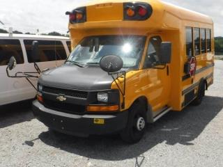 2012 CHEVY STARCRAFT SCHOOL BUS