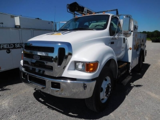 2006 FORD F750XL SD S/A MECHANICS TRUCK