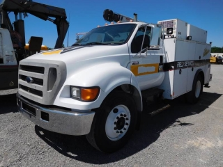 2004 FORD F650XL SD S/A MECHANICS TRUCK