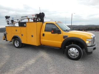 2008 FORD F550XLT SD MECHANICS TRUCK