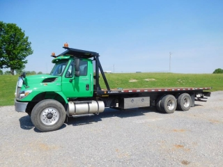 2012 INTERNATIONAL 7400 T/A ROLL-BACK TRUCK