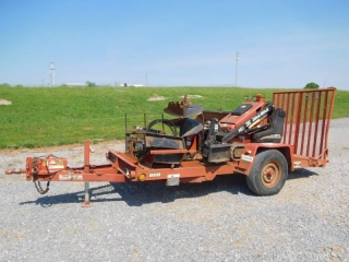 2008 DITCH WITCH SK350 COMPACT TRACK LOADER PACKAG