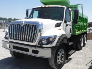 2010 INTERNATIONAL 7400 WORKSTAR T/A DUMP TRUCK