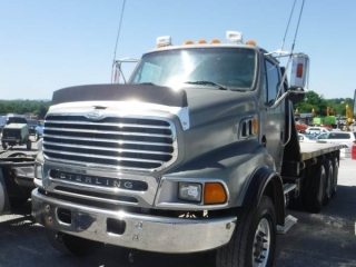 2007 STERLING TRI-AXLE FLATBED TRUCK