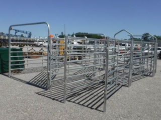 180 DEGREE GALV CATTLE SWEEP SYSTEM