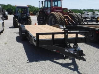 NEW 2018 JT 20' T/A FLATBED TAG TRAILER