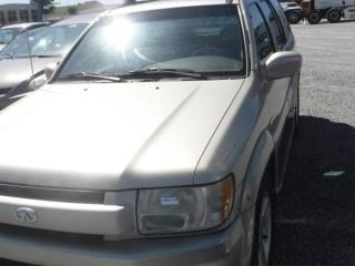 2001 INFINITI QX4 SUV