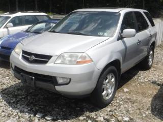 2002 ACURA MDX SUV