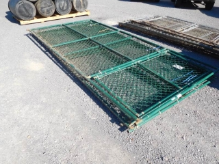 12' X 12'  CHAIN LINK DOG PEN