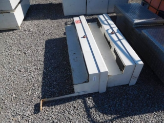 (2) WEATHER GUARD SIDE TOOLBOXES