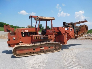 1996 DITCH WITCH HT150 CRAWLER TRENCHER