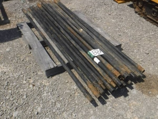 UNUSED LOT OF STEEL DRILL STEMS