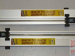 """2 Tru-Grip 18"""" Back-To Back Clamps."""