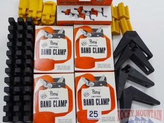 Pony Band Clamps, Pipe Saddles & More.