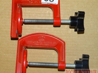 2 Maclanburg Duncan Clamps.