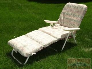 Chaise Lounge Chair w/ Cushion.