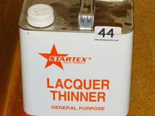 2 Gallons Startex & Other Lacquer Thinner.