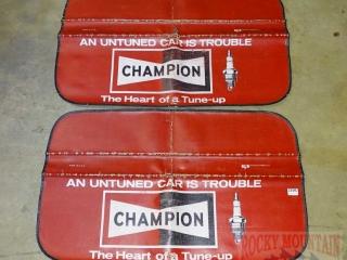 2 Neat Vintage Champion Fender Protectors.