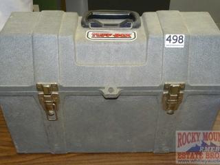 Tuff-Box Tool Box W/ Tray.