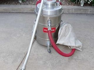 Clarke 612 Steel Vacuum Cleaner.
