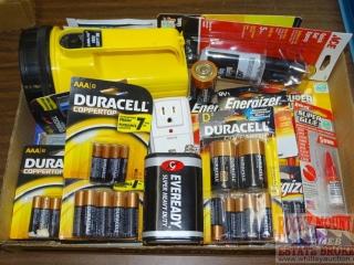 Lantern & Asst. Batteries.