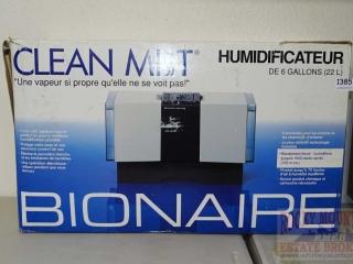 Bionaire Clean Mist Humidifier.