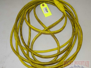 Yellow Heavy Duty Extension Cord.