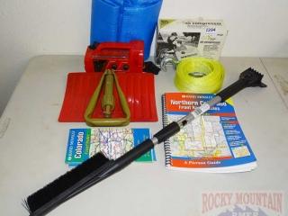 Tow Rope, Air Compressor, Shovel & More.