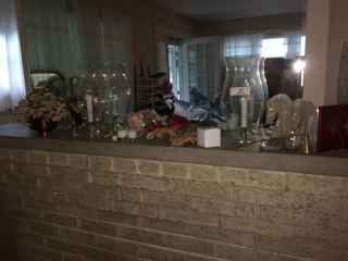 Miscellaneous Lot on Fireplace Mantle