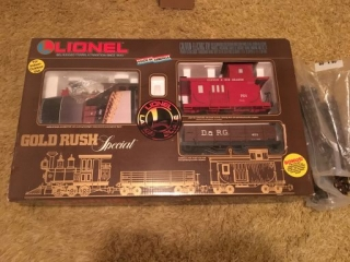 Lionel Gold Rush Special Train Set