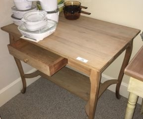 Antique 1 Drawer Table