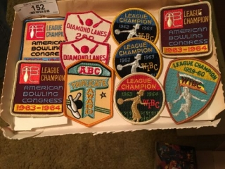 Assorted Bowling Patches