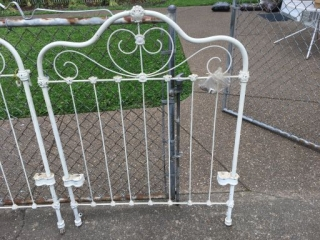 Cast Iron Youth Bed