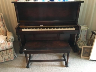 Kohler& Campbell Piano & Bench