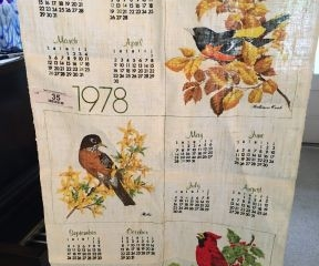 15 Calendar Kitchen Towels