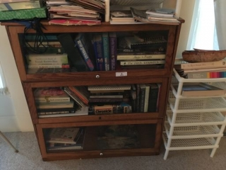 3 Section Barrister Style Bookcase