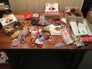Large Assortment of Scouting Items