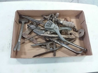 assortment of wrenches