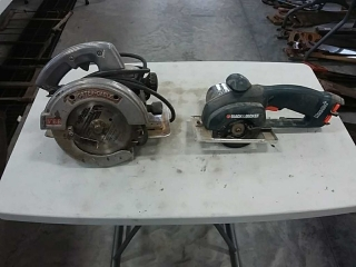 Porter Cable and B&D saws