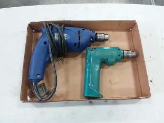 Benchtop Pro and Makita drills