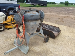 Gilson electric cement mixer