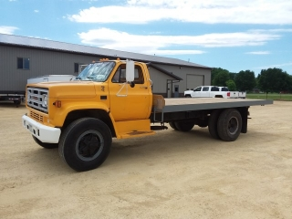 1989 GMC C-60 Flatbed, Gas, Fuel injected,