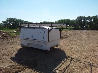 6 1/2' x 5' Fiberglass utility topper with