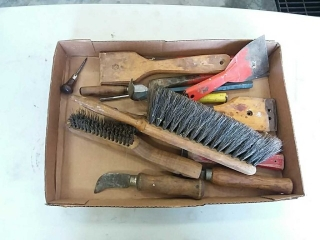 assortment of hand tools