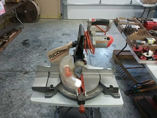 Ridgid miter saw - damaged cover
