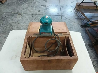 Makita palm sander with homemade case