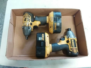 Dewalt 18v impact and screw gun